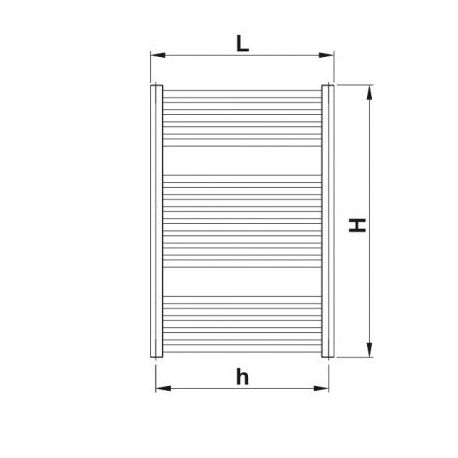 Korado Koralux Linear Comfort KLT 900 x 750