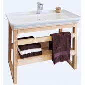 Premium Delta masiv koupelnový stolek