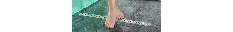 Odtokové sprchové žlaby